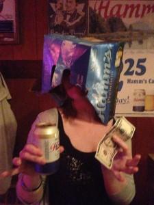 I got a buck; I got a Hamm's!